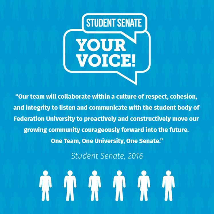 Student Senate Quote